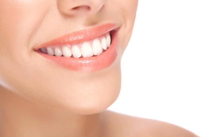 Woman with Teeth Whitening